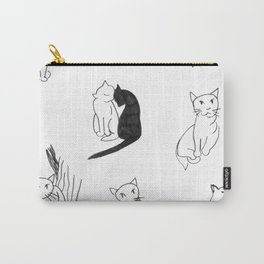 Cat Expressions Carry-All Pouch