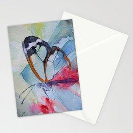 Butterfly 10 Stationery Cards
