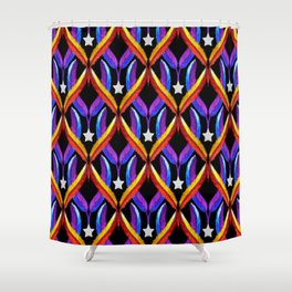 Light as a Feather, Bright like a Star Shower Curtain