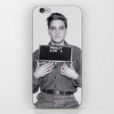 ELVIS PRESLEY - ARMY MUGSHOT iPhone & iPod Skin