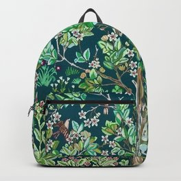 "William Morris ""Garden of delight"" Backpack"
