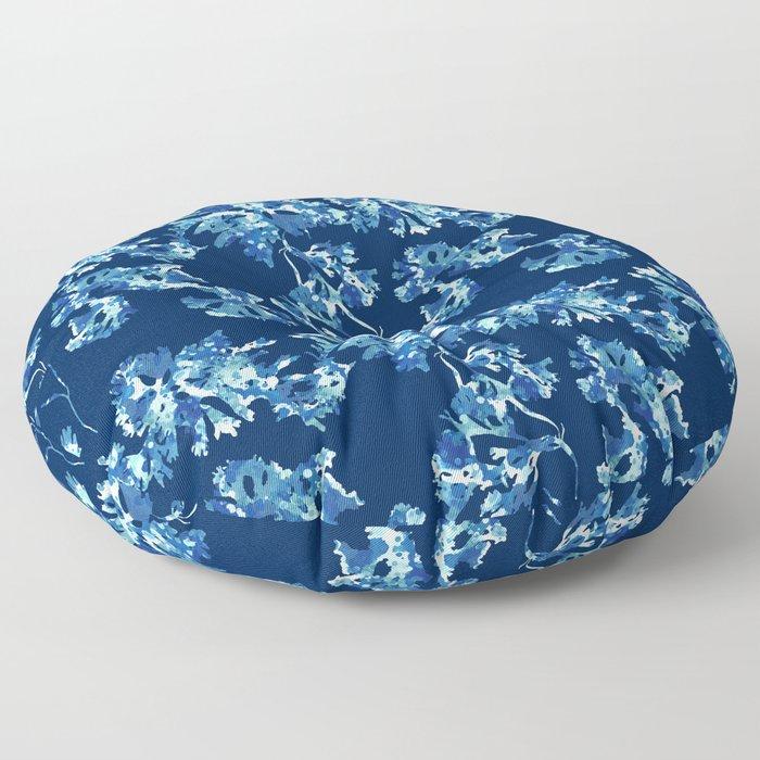 Marine Seaweed Floor Pillow