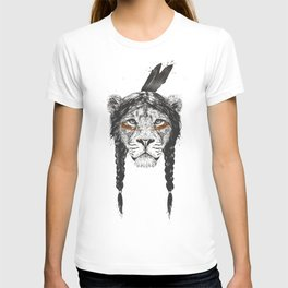 Warrior lion T-shirt