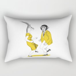 Let's dance!! Rectangular Pillow