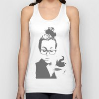lorde Tank Tops featuring White Teeth Teen by Paxton Keating