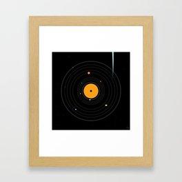 TheSoundOfSpace/ Framed Art Print