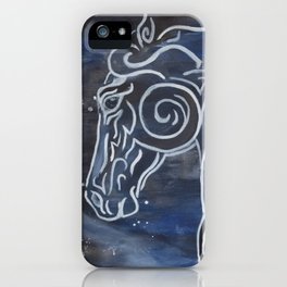 Horse and Stardust iPhone Case