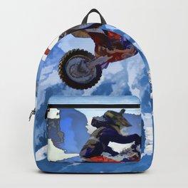 Mountain View - Dirt-bike Racer Backpack