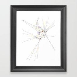 Tethered (Illustration) Framed Art Print