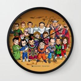 DBZ Mexican Voice Actors Wall Clock