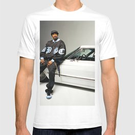 Snoop Dogg, Los Angeles, west coast rapper style T-shirt