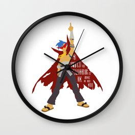 Kick reason to the curb! Wall Clock