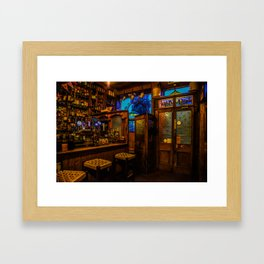 Old Irish Pub Framed Art Print