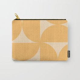 Monochromatic Minimalism - Yellow Carry-All Pouch