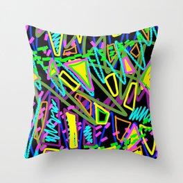 Happy Pattern Throw Pillow