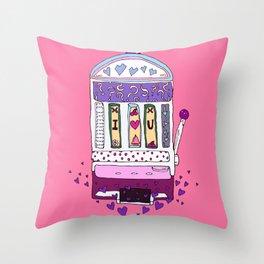 Love Machine Throw Pillow