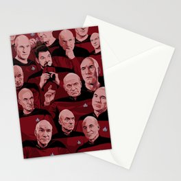 Picard Day Stationery Cards