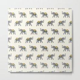 Walk like an Elephant Metal Print