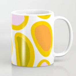 Colorful Abstract Candies on White Background - Joyful Spring/Summer Color Palette #decor #society6 Coffee Mug