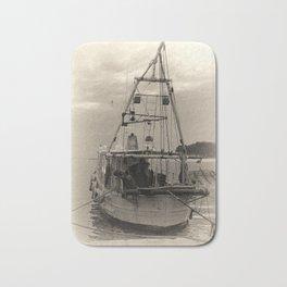 Fishing boat Bath Mat