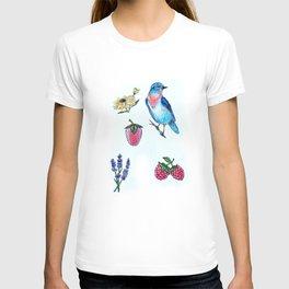 Bluebird Print T-shirt