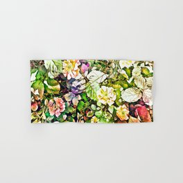 Scattered Blooms And Verdure Hand & Bath Towel