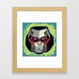 G1 MEGATRON Framed Art Print
