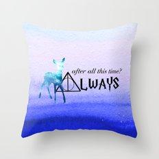 Always Deer Throw Pillow