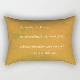 Kiss The Girl Rectangular Pillow