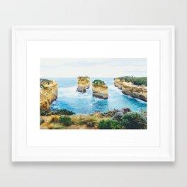 Tom and Eva Great Ocean Road Fine Art Print  • Travel Photography • Wall Art Framed Art Print