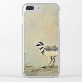 Shore Bird 2945 Clear iPhone Case
