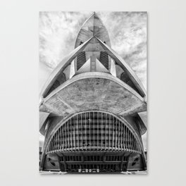 City of Arts and Sciences V | C A L A T R A V A | architect | Canvas Print