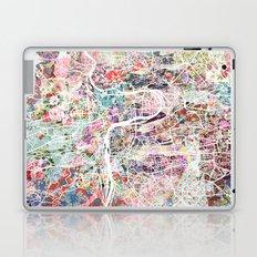 Prague map Laptop & iPad Skin