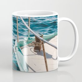 BOAT - WATER - SEA - PHOTOGRAPHY Coffee Mug
