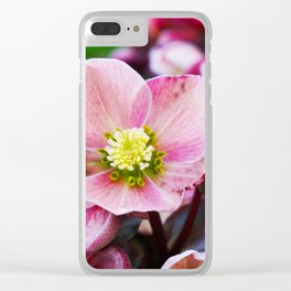 February Blooms Clear iPhone Case