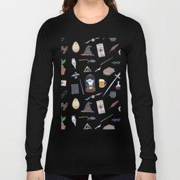 Harry Pattern Night Long Sleeve T-shirt