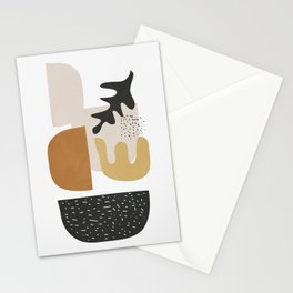 Abstract Shapes  2 Stationery Cards