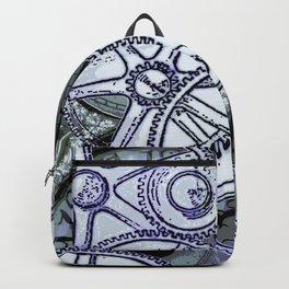 Steampunk Gearwheels Backpack
