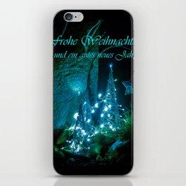 Frohe Weihnachten und ein gutes neues jahr iPhone Skin
