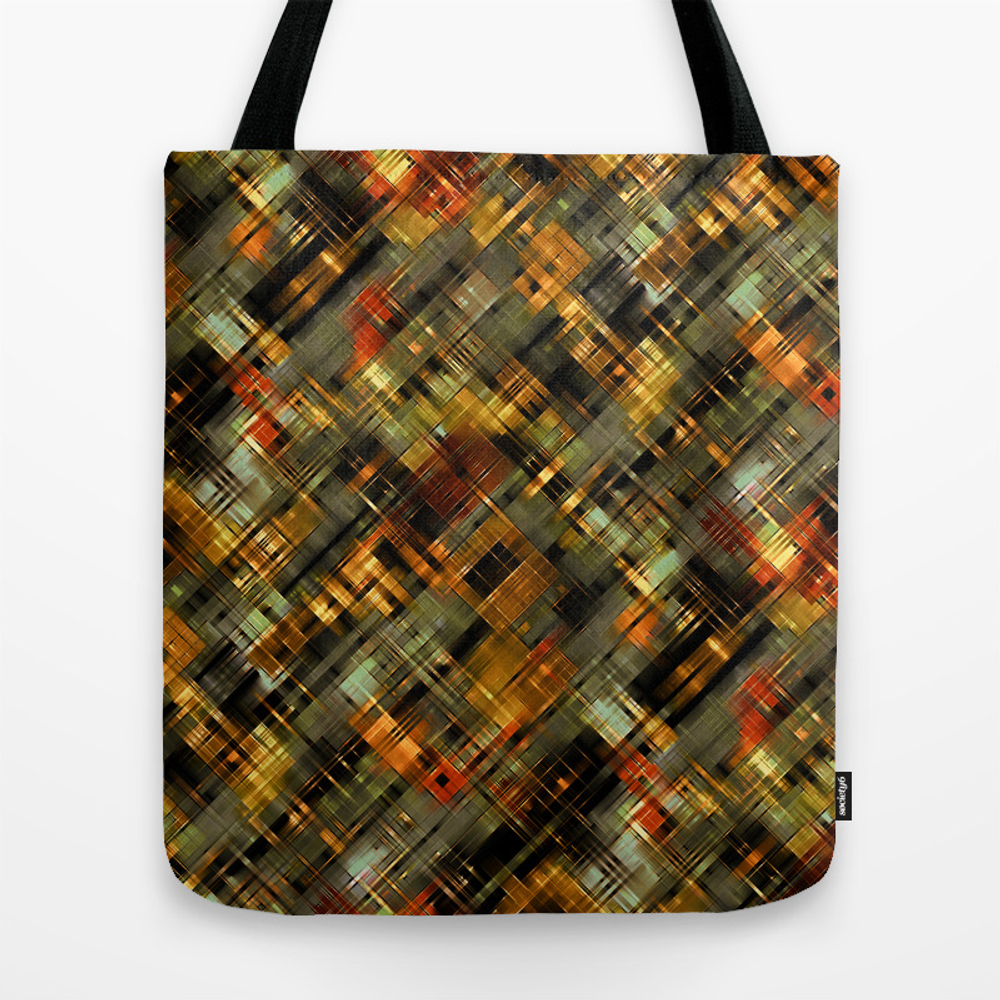 Abstract Retro,3 Tote Purse by Palitraart (TBG9681692) photo