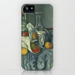 Paul Cézanne - The Peppermint Bottle iPhone Case