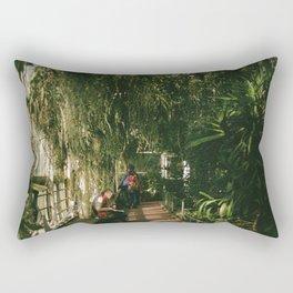 Over Grown Hallway Rectangular Pillow