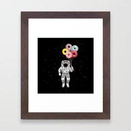 Sweet Space Travel Framed Art Print