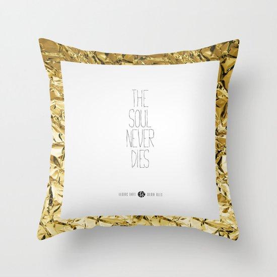 Golden Rules #5 Throw Pillow