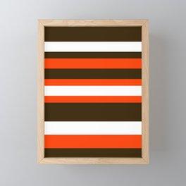 Cleveland Colors Framed Mini Art Print