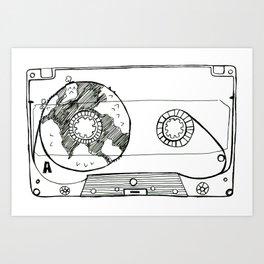 listen to the heart Art Print