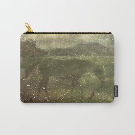 Flora and Fauna Dreamy Collage Carry-All Pouch