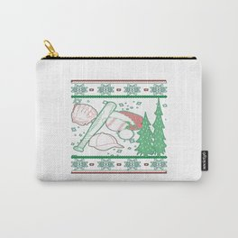 Baseball Christmas Carry-All Pouch