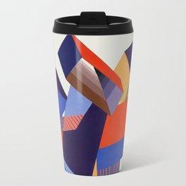 Geometric Painting by A. Mack Travel Mug