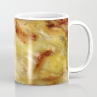 pizza Mugs featuring Pizza by Fine2art